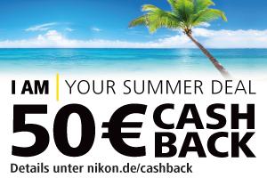 Nikon 1 Kit Cashback-Aktion