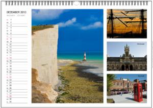 Kalender 2013 London und Südengland