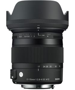Sigma 17-70mm f2.8-4