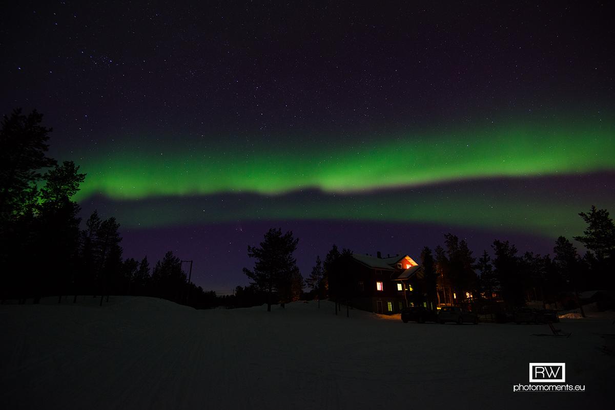 Aurora Borealis, Ivalo am 29.03.2013