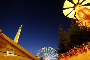 Weihnachtsmarkt in Luxemburg-Stadt
